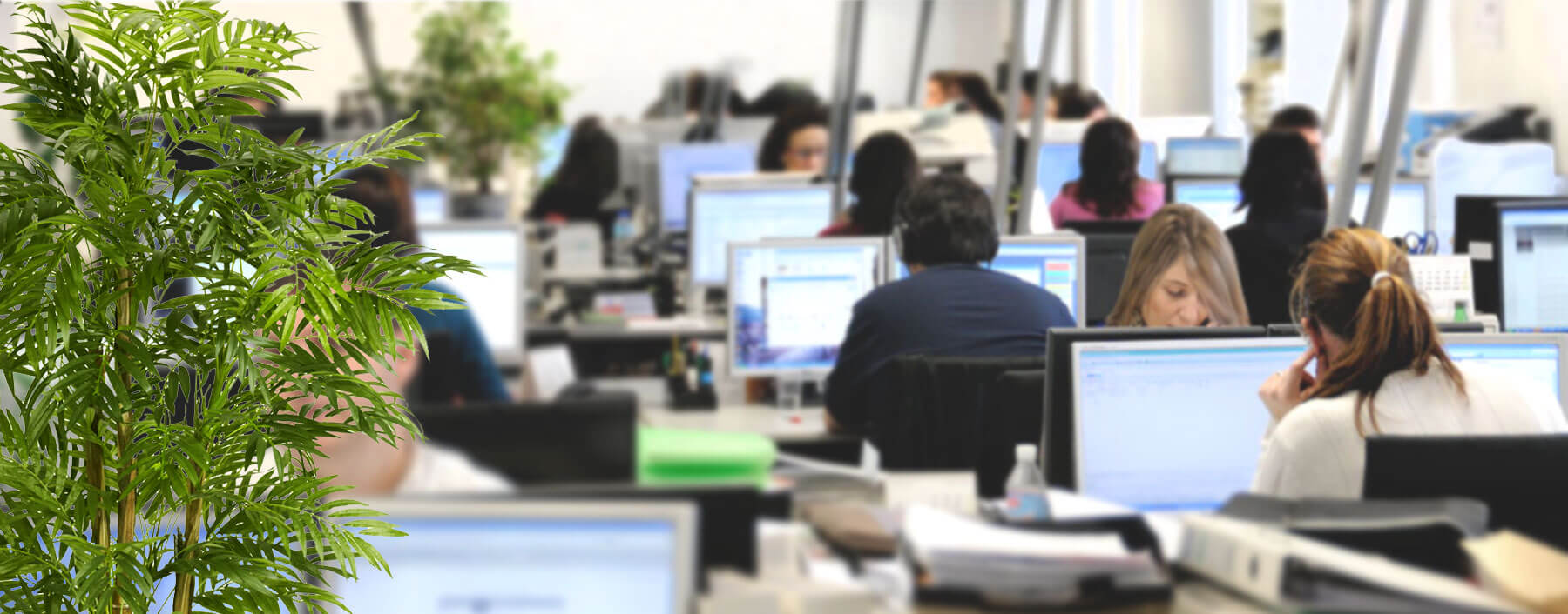 photo of helpdesk office